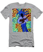 Guitar Solo Men's T-Shirt (Athletic Fit)