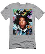 Jean, Michel, Basquiat II Men's T-Shirt (Athletic Fit)