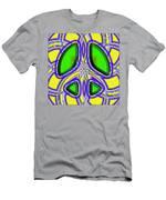 Retro Peace Sign Men's T-Shirt (Athletic Fit)