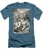 Beowulf Print Men's T-Shirt (Athletic Fit)