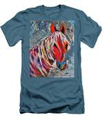 Cisco Abstract Horse  Men's T-Shirt (Athletic Fit)