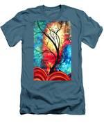 New Beginnings Original Art By Madart Men's T-Shirt (Athletic Fit)