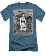 Seductive Angel  Men's T-Shirt (Athletic Fit)