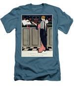 Summer Evening Wear From Art Gout Beaute Men's T-Shirt (Athletic Fit)