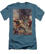 The Capture Of Constantinople Men's T-Shirt (Athletic Fit)