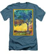 Tuscany Hill Side Shadows Men's T-Shirt (Athletic Fit)