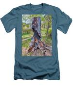Vibrant And Burnt Out Men's T-Shirt (Athletic Fit)