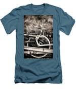 Wheel And Steam Men's T-Shirt (Athletic Fit)