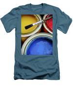 Paint Cans Men's T-Shirt (Athletic Fit)