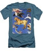 Artwork In Villa Farnese, Italy Men's T-Shirt (Athletic Fit)