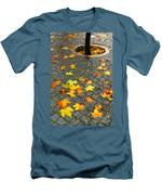 Leafs In Ground Men's T-Shirt (Athletic Fit)