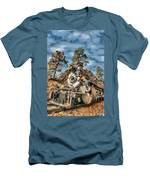 Of Mountain And Machine Men's T-Shirt (Athletic Fit)
