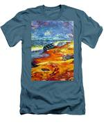 A Canoe At The Beach Men's T-Shirt (Athletic Fit)