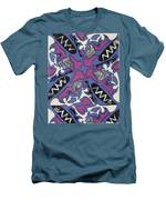 Abstract Pattern Men's T-Shirt (Athletic Fit)
