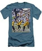 Ben Roethlisberger Pittsburgh Steelers Art Men's T-Shirt (Athletic Fit)