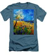Blue Cornflowers 450108 Men's T-Shirt (Athletic Fit)