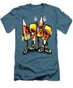 Candy Corn Gang Men's T-Shirt (Athletic Fit)