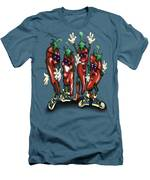 Chili Peppers Gang Men's T-Shirt (Athletic Fit)