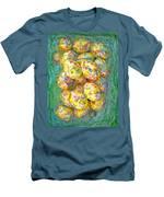 Colorful Eggs Men's T-Shirt (Athletic Fit)