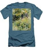 Conversation In A Rose Garden Men's T-Shirt (Athletic Fit)