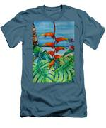 Dominican Heliconia Men's T-Shirt (Athletic Fit)