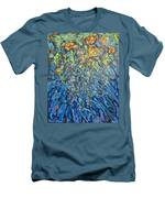 Lily Pads Water Lily Paintings Men's T-Shirt (Athletic Fit)