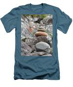 Rocks And Roses Men's T-Shirt (Athletic Fit)