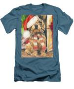 Santas Little Yelper Men's T-Shirt (Athletic Fit)