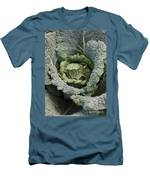 Savoy Cabbage In The Vegetable Garden Men's T-Shirt (Athletic Fit)