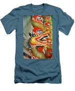 Thai Dragon Men's T-Shirt (Athletic Fit)