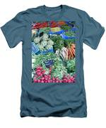 Vegetables At German Market Men's T-Shirt (Athletic Fit)