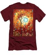 Surrounded By Love By Madart Men's T-Shirt (Athletic Fit)