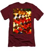 Red Or White Men's T-Shirt (Athletic Fit)