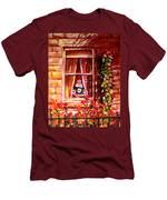 Boston Bruin Fan Men's T-Shirt (Athletic Fit)
