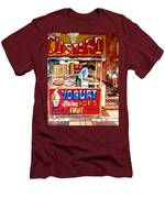 Custard Cart Men's T-Shirt (Athletic Fit)