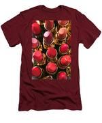 Lipstick Rows Men's T-Shirt (Athletic Fit)