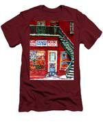 Segal's Market St.lawrence Boulevard Montreal Men's T-Shirt (Athletic Fit)