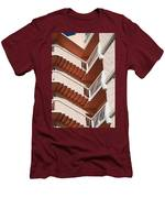 Stairs And Rails Men's T-Shirt (Athletic Fit)