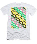 Overlayed Dots Men's T-Shirt (Athletic Fit)