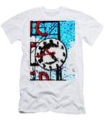 Market Clock Mosaic Men's T-Shirt (Athletic Fit)