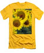 Sunflower Series Men's T-Shirt (Athletic Fit)