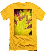 Autumn Maple Leaves Men's T-Shirt (Athletic Fit)