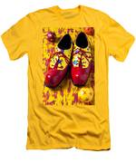 Clown Shoes And Balls Men's T-Shirt (Athletic Fit)