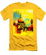Islamic Painting 001 Men's T-Shirt (Athletic Fit)