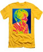 A Thermogram Of A Boy Talking Men's T-Shirt (Athletic Fit)