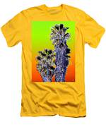 Clearlake Palm Trees Men's T-Shirt (Athletic Fit)