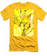 Daylily Men's T-Shirt (Athletic Fit)