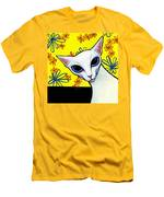 Foreign White Cat Men's T-Shirt (Athletic Fit)