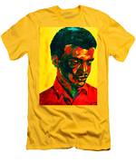Young African Man Men's T-Shirt (Athletic Fit)