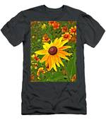 Coneflower And Gaillardia Men's T-Shirt (Athletic Fit)